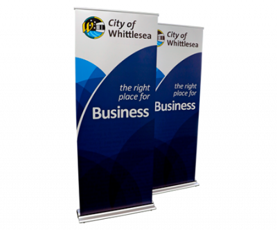 Printing Services Melbourne - Retractable Banners